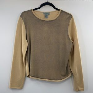 3For$20 Co & Eddy Tan/Black Dot  Top size Large